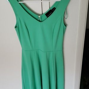 Cynthia Rowley | SleevelessMint Green Skater Dress